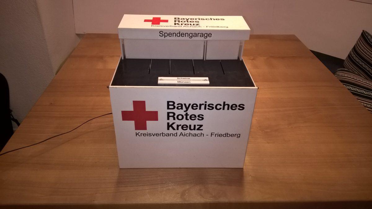 Spendengarage – BRK