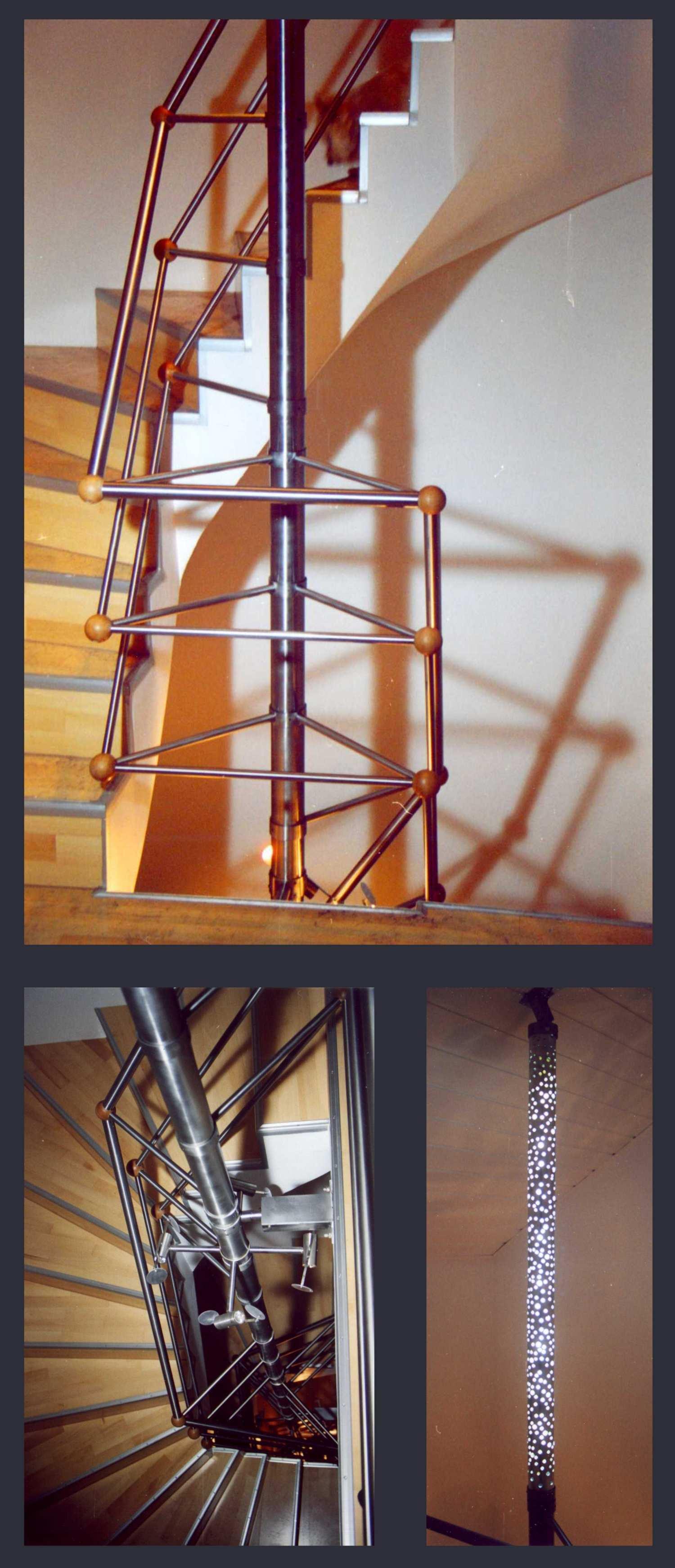Treppengelander Leuchten Modelle Pancho Schlehhuber
