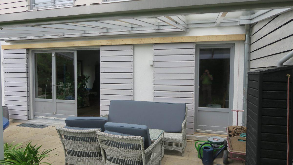 Fensterladen für Einfamilienhaus