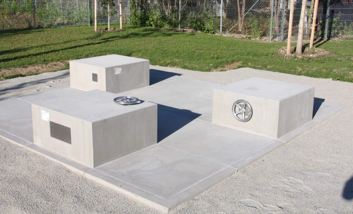 Spielbrunnen Grundschule Arnulfpark