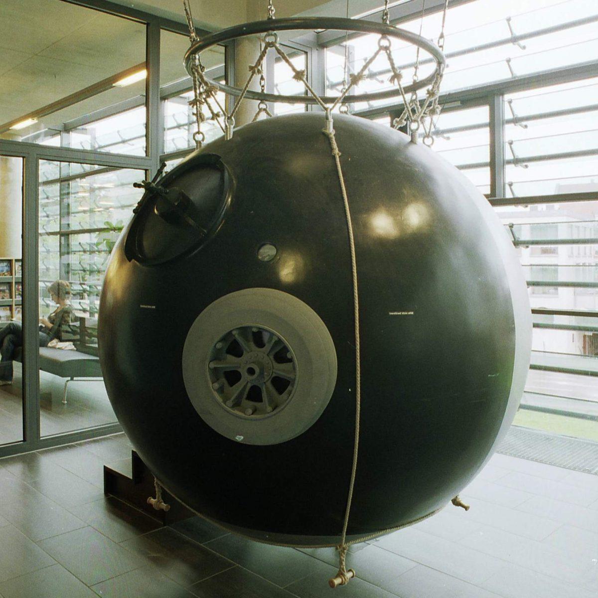 Piccard-Gondel Ballonmuseum Gersthofen